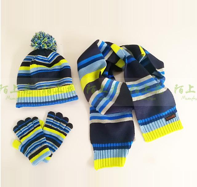 针织套装(围巾帽子手套)